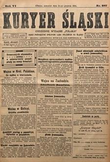 Kuryer Śląski, 1914, R. 6 [właśc. 8], nr287