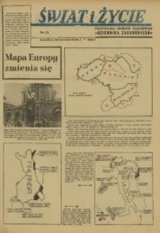 Świat i Życie, 1946, R. 1, nr 15