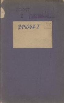 Ustawy Związku wzajemnej pomocy chrześć. robotników górnośląskich w Bytomiu