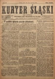 Kuryer Śląski, 1921, R. 13 [właśc. 15], nr3