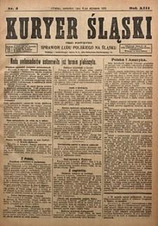 Kuryer Śląski, 1921, R. 13 [właśc. 15], nr4