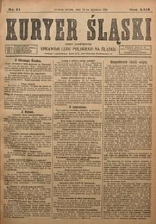 Kuryer Śląski, 1921, R. 13 [właśc. 15], nr11