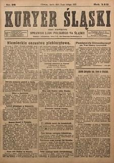 Kuryer Śląski, 1921, R. 13 [właśc. 15], nr26