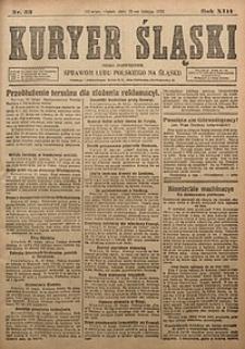 Kuryer Śląski, 1921, R. 13 [właśc. 15], nr33