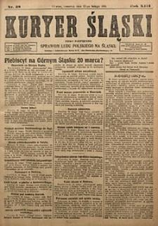 Kyryer Śląski, 1921, R. 13 [właśc. 15], nr38