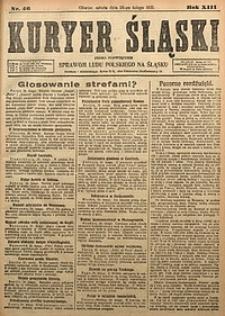 Kuryer Śląski, 1921, R. 13 [właśc. 15], nr46