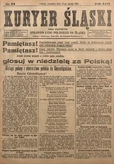 Kuryer Śląski, 1921, R. 13 [właśc. 15], nr62