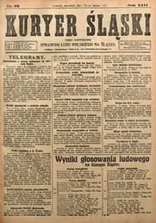 Kuryer Śląski, 1921, R. 13 [właśc. 15], nr68