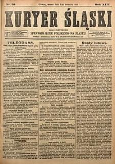Kuryer Śląski, 1921, R. 13 [właśc. 15], nr76