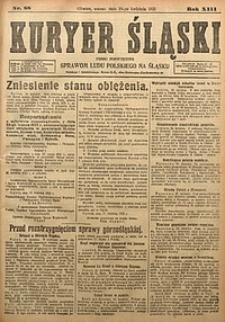 Kuryer Śląski, 1921, R. 13 [właśc. 15], nr88