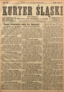 Kuryer Śląski, 1921, R. 13 [właśc. 15], nr95