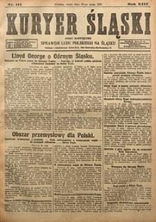 Kuryer Śląski, 1921, R. 13 [właśc. 15], nr111