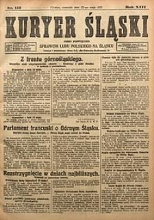 Kuryer Śląski, 1921, R. 13 [właśc. 15], nr115