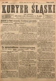 Kuryer Śląski, 1921, R. 13 [właśc. 15], nr122