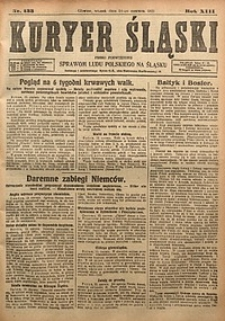 Kuryer Śląski, 1921, R. 13 [właśc. 15], nr133