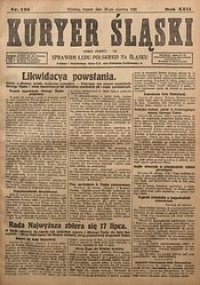 Kuryer Śląski, 1921, R. 13 [właśc. 15], nr145