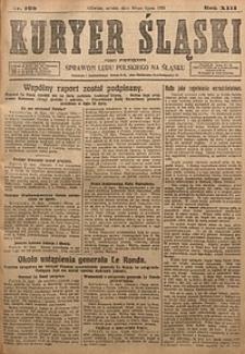 Kuryer Śląski, 1921, R. 13 [właśc. 15], nr160