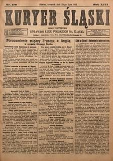 Kuryer Śląski, 1921, R. 13 [właśc. 15], nr170