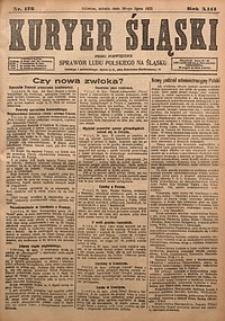 Kuryer Śląski, 1921, R. 13 [właśc. 15], nr172