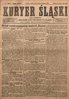 Kuryer Śląski, 1921, R. 13 [właśc. 15], nr183