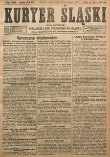 Kuryer Śląski, 1921, R. 13 [właśc. 15], nr191