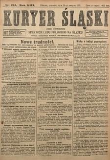 Kuryer Śląski, 1921, R. 13 [właśc. 15], nr194