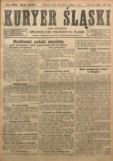 Kuryer Śląski, 1921, R. 13 [właśc. 15], nr195
