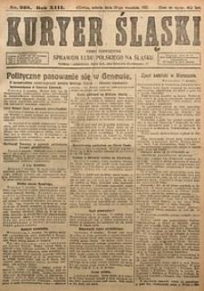 Kuryer Śląski, 1921, R. 13 [właśc. 15], nr208