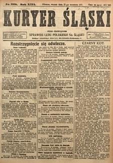 Kuryer Śląski, 1921, R. 13 [właśc. 15], nr222