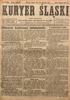 Kuryer Śląski, 1921, R. 13 [właśc. 15], nr255