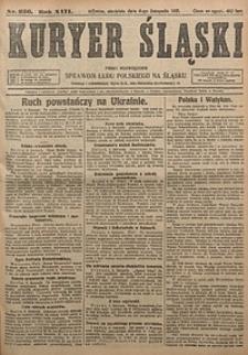 Kuryer Śląski, 1921, R. 13 [właśc. 15], nr256