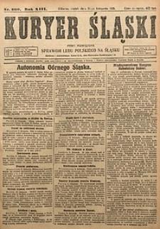 Kuryer Śląski, 1921, R. 13 [właśc. 15], nr260