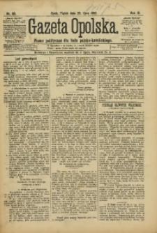 Gazeta Opolska, 1892, R. 3, nr 60