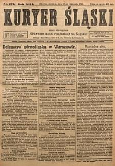 Kuryer Śląski, 1921, R. 13 [właśc. 15], nr273