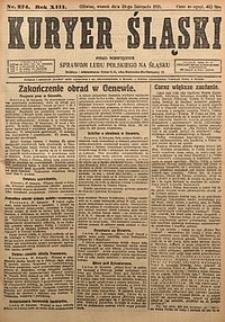 Kuryer Śląski, 1921, R. 13 [właśc. 15], nr274