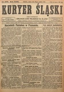 Kuryer Śląski, 1921, R. 13 [właśc. 15], nr299
