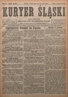 Kuryer Śląski, 1922, R. 14 [właśc. 16], nr7