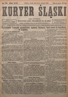 Kuryer Śląski, 1922, R. 14 [właśc. 16], nr13