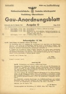 Gau-Anordnungsblatt, 1941, Folge 28