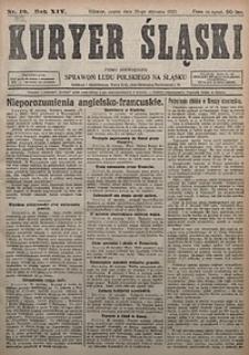 Kuryer Śląski, 1922, R. 14 [właśc. 16], nr16