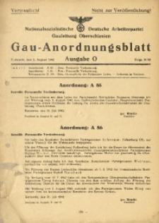 Gau-Anordnungsblatt, 1942, Folge 21