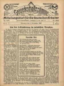 Gewerkschaftsstimme, 1936, Jg.16, Nr. 11