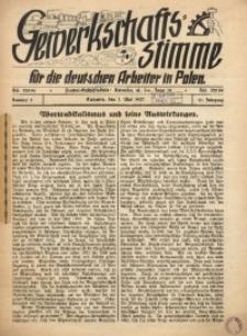 Gewerkschafts-Stimme, 1937, Jg.17, Nr. 5