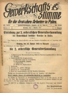 Gewerkschafts-Stimme, 1937, Jg.17, Nr. 10