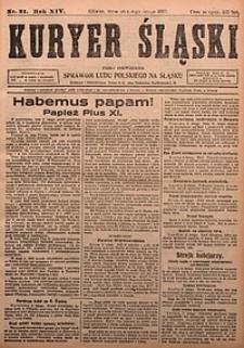 Kuryer Śląski, 1922, R. 14 [właśc. 16], nr31