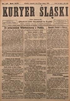Kuryer Śląski, 1922, R. 14 [właśc. 16], nr44
