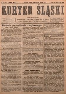 Kuryer Śląski, 1922, R. 14 [właśc. 16], nr57