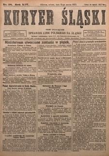 Kuryer Śląski, 1922, R. 14 [właśc. 16], nr58