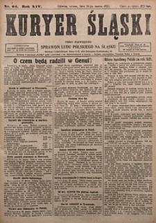 Kuryer Śląski, 1922, R. 14 [właśc. 16], nr64