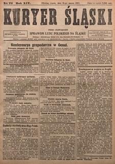 Kuryer Śląski, 1922, R. 14 [właśc. 16], nr74